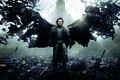 Картинка Action, Dracula, Wings, Vampire, Cloak, Drama, Sword, Horror, Red, War, 2014, Luke Evans, Wallpaper, Fantasy, ...