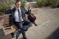 Картинка vegetation, lawyer, amphetamine, tv series, Jimmy McGill, Bob Odenkirk, city, pavement, Better Call Saul, leather, ...