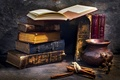 Картинка книги, кувшин, Book mark