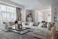 Картинка гостиная, диван, интерьер, стол, подушки, фото, дизайн