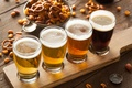 Картинка Alcohol, beer, barley, foam, different types of beer