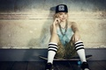 Картинка девушка, шорты, актриса, кепка, скейт, Хлоя Грейс Морец, Chloë Grace Moretz
