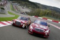 Картинка Mercedes Benz S-AMG, эволюция, гонка