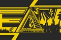 Картинка yellow, awesome, good, fun, britain, cool, triangle, zero, EDM, mayami