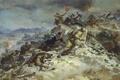 Картинка бой, дым, великая отечественная война, война, руины