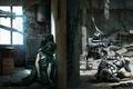 Картинка оружие, солдаты, схватка, перестрелка, подвал, game wallpapers, This War of Mine