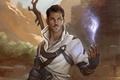 Картинка усы, маг, Dorian Pavus, Dragon Age: Inquisition, посох