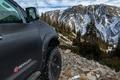 Картинка горы, Tundra, DEVOLRO, Cars, пейзах, Offroad, снег, Toyota, природа, Studio, Tuning