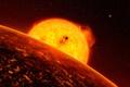 Картинка Corot-7b, звезда, экзопланета