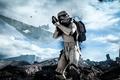 Картинка Взгляд, Electronic Arts, DICE, Штурмовик, Stormtrooper, Star Wars: Battlefront