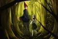 Картинка Menii-chan, Greg, мальчики, арт, деревья, Wirt, Вирт, Over the Garden Wall