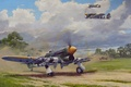 Картинка aviation, aircraft, hawker typhoon, airplane, dogfight, war