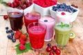 Картинка fresh, blueberries, йогурт, клубника, вишня, cherries, малина, cocktail, strawberries, ягоды, черника, коктейль, raspberries, juice, сок, ...