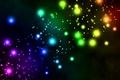 Картинка шарики, огоньки, цветные, фон