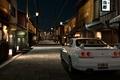 Картинка gran turismo 5, белый, r33, Япония, город, nissan, playstation 3, nissan skyline gtr r33, skyline, ...