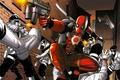 Картинка deadpool, heroes, marvel, comics, gun