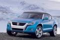 Картинка Concept A, Volkswagen, снег, камни