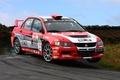 Картинка красный, Колеса, Машина, Мицубиси, Mitsubishi, Red, Car, Evolution, rally, WRC, Evo