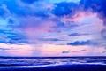 Картинка Трава, Облака, Небо, Горизонт