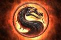 Картинка пламя, знак, эмблема, игра на века, дракон, смертельная схватка, Смертельная битва, Mortal Kombat, язык, огонь