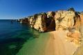 Картинка океан, скалы, побережье, пляж, природа