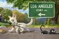 Картинка кошка, собака, volt, вольт, шар, хомяк, мультфильм