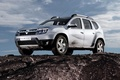 Картинка грязь, Renault, рено, кроссовер, Duster, дастер, компактный