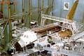 Картинка СССР, макет, РКК Энергия, Буран, Гагарин, цех, сборка