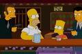 Картинка оружие, The Simpsons, гомер, Симпсоны, бард, бандиты