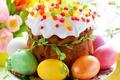 Картинка Яйца, Праздник, Еда, Выпечка, фото, Пасха