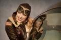 Картинка девушка, самолёт, Bailey, L-17