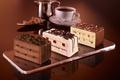 Картинка пирожные, десерт, глазурь, клубничное, крем, шоколад, шоколадное, еда, ореховое