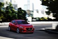 Картинка Red, Car, Speed, Mazda 3, Wallpapers, New, 2013