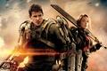 Картинка оружие, Tom Cruise, Эмили Блант, Том Круз, аммуниция, фильм, Edge of Tomorrow, фантастика, Emily Blunt, ...