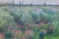 Картинка Клод Моне, картина, Берега Сены в Ветей, пейзаж, природа