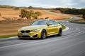 Картинка Yellow, Car, Supercar, Coupe, BMW