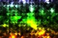 Картинка треугольники, кубики, разноцветные, абстракция