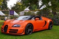 Картинка veyron, bugatti, orange, vitesse