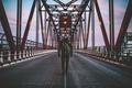 Картинка джинсы, Нью-Йорк, капот, мужчины, Соединенные Штаты, Квинсборо мост