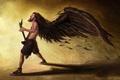 Картинка Гитара, кеды, крылья, dimebag darrell