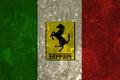 Картинка флаг, италия, феррари, гарцующий жеребец, ferrari, italia