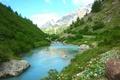 Картинка озеро, пейзаж, природа, лето, небо, свобода, лес