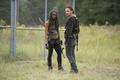 Картинка Ходячие мертвецы, Danai Gurira, The Walking Dead, Rick Grimes, Andrew Lincoln, Michonne