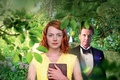 Картинка Face, Auburn, Green, Beautiful, Emma Stone, Eyes, Ring, Red, Hair, Magic, 2014, Wallpaper, Dress, Lips, ...