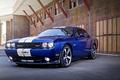 Картинка Dodge, Blue, SRT, Challenger