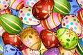 Картинка Easter eggs, пасхальные яйца, текстура, texture