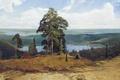 Картинка Валаамские дали, озеро, Афонин, деревья, природа