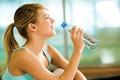 Картинка water, smile, water bottle, woman, vital liquid