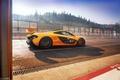 Картинка McLaren, Hypercar, Макларен, Yellow, Суперкар, трасса, Желтый, Supercar, Спа, Гиперкар