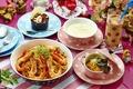 Картинка блюда, ассорти, паста, десерт, коктейль, салат, креветки, суп